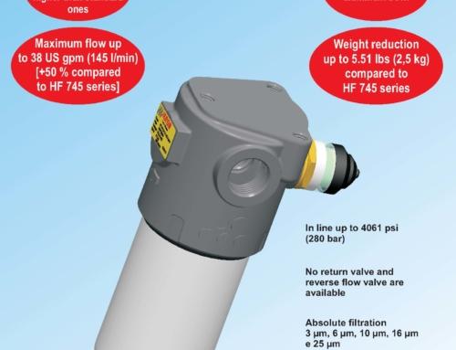 Filtros de presión en carcasa de aluminio